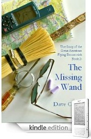 Book 2, The Missing Wand, is now available on Kindle