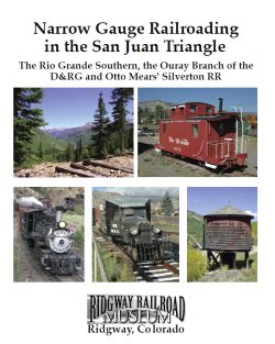 The Ridgway Railroad Museums book is earning plaudits from the narrow gauge railroading press. Click on image to go to order from our catalog.